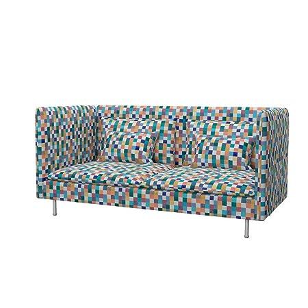 Soferia - IKEA SÖDERHAMN Funda para sofá de 3 plazas, Espalda Alta ...