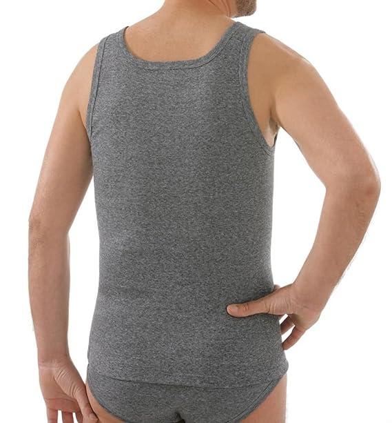 comazo Herren platin Hemd ohne Arm  Amazon.de  Bekleidung 8781a98cd9