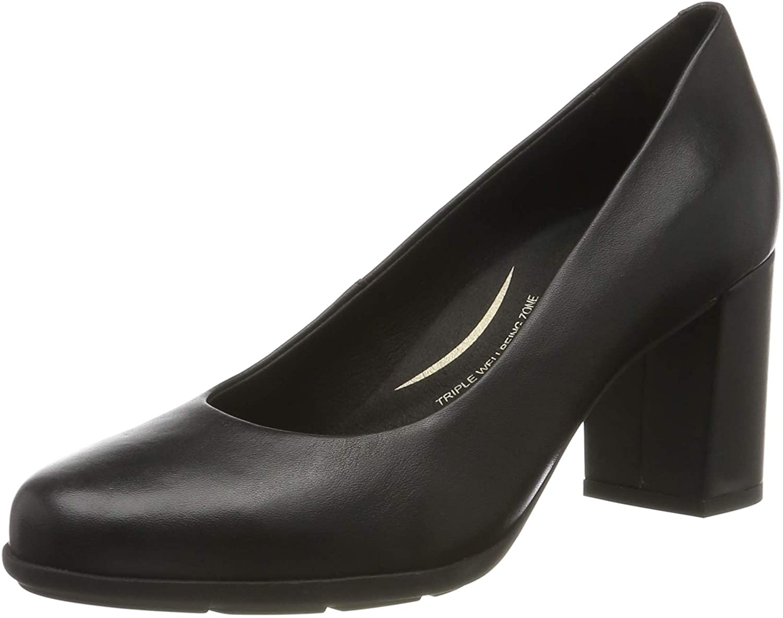 Geox D New Annya A, Zapatos de Tacón para Mujer