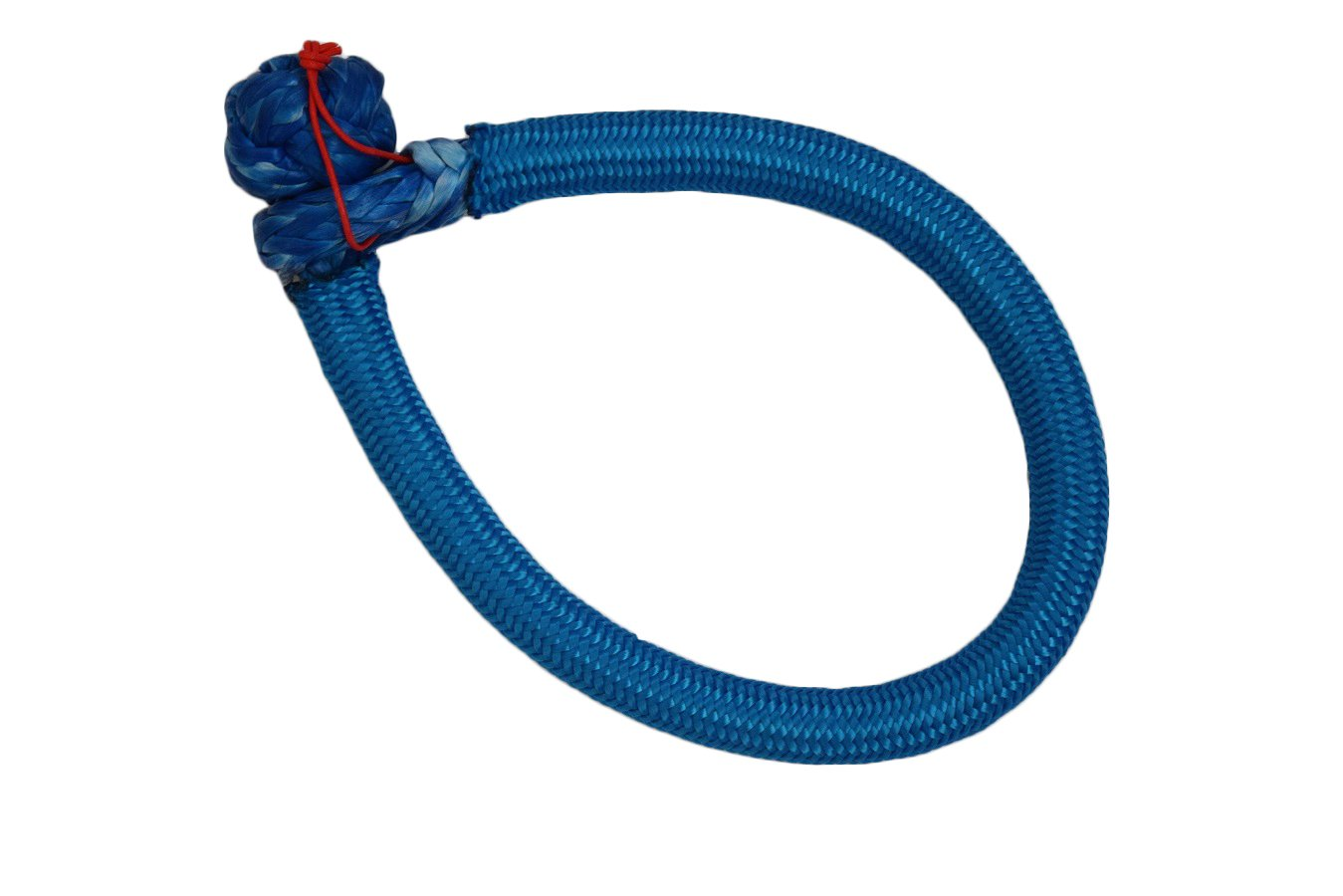 9mm150mm Soft Shackles for ATVs UTVs Parts ATV Winch Shackle Synthetic Shackle(Blue) QIQU