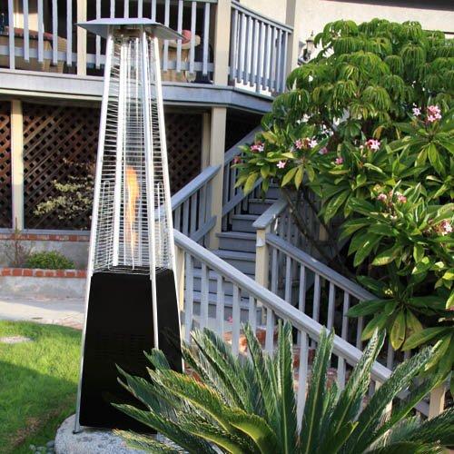 Garden Radiance Grp4000bk Dancing Flames Pyramid Outdoor