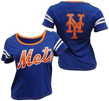 official photos d8e5c c1dd3 Amazon.com : 5th & Ocean New York Mets Women's Baby Jersey S ...