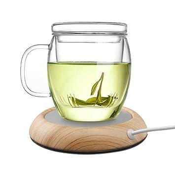 SunBeter Taza Warmer USB Desktop Cup Warmer Calentador de bebidas eléctrico Milk Tea Coffee Cup Warmer