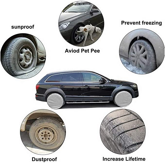 YOUTH BURST Wheel Tire Covers Case Car