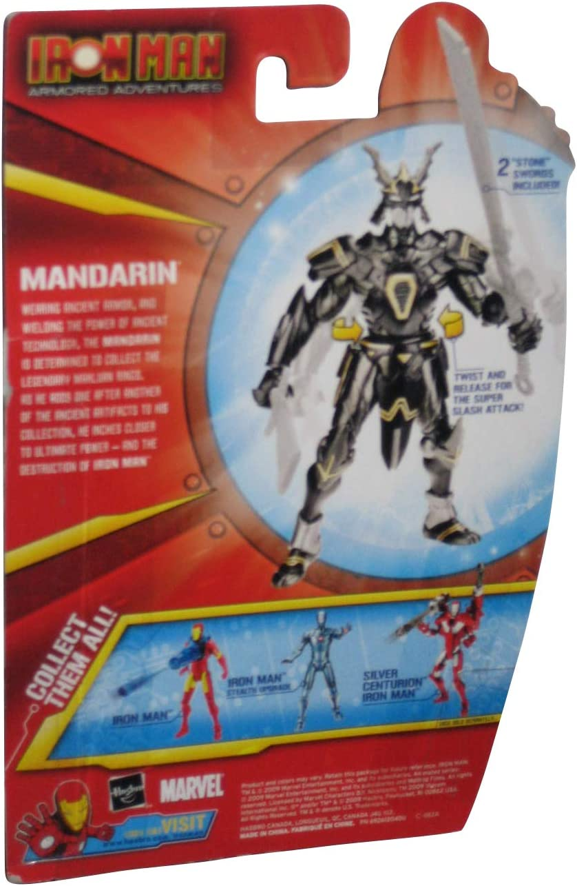 Marvel Iron Man Armored Adventures Super Sword Slash Mandarin Action Figure b-2