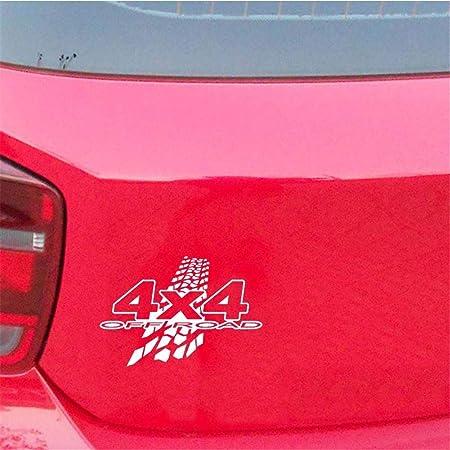 Xploit PVC Nero Bianco Generale per Automotive Nuovo 20cm X 13.6 cm 4X4 off-Road Fango Divertente Vinile Decalcomanie Auto-Styling Adesivo Auto