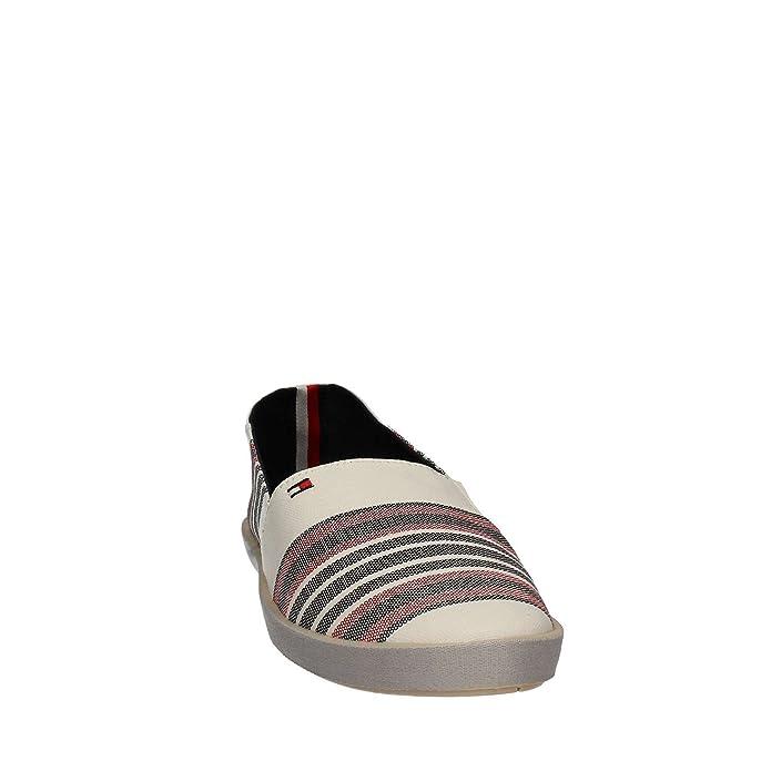 0eae8f559 Tommy hilfiger FM0FM00450 Espadrillas Man Bianco 42  Amazon.co.uk  Shoes    Bags