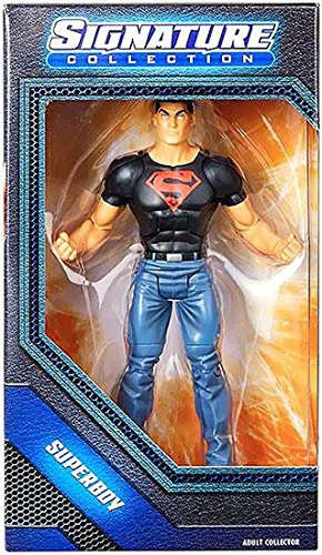 Mattel DC Universe Exclusive Signature Collection Action Figure Superboy [Conner Kent] - Mattel Dc Universe