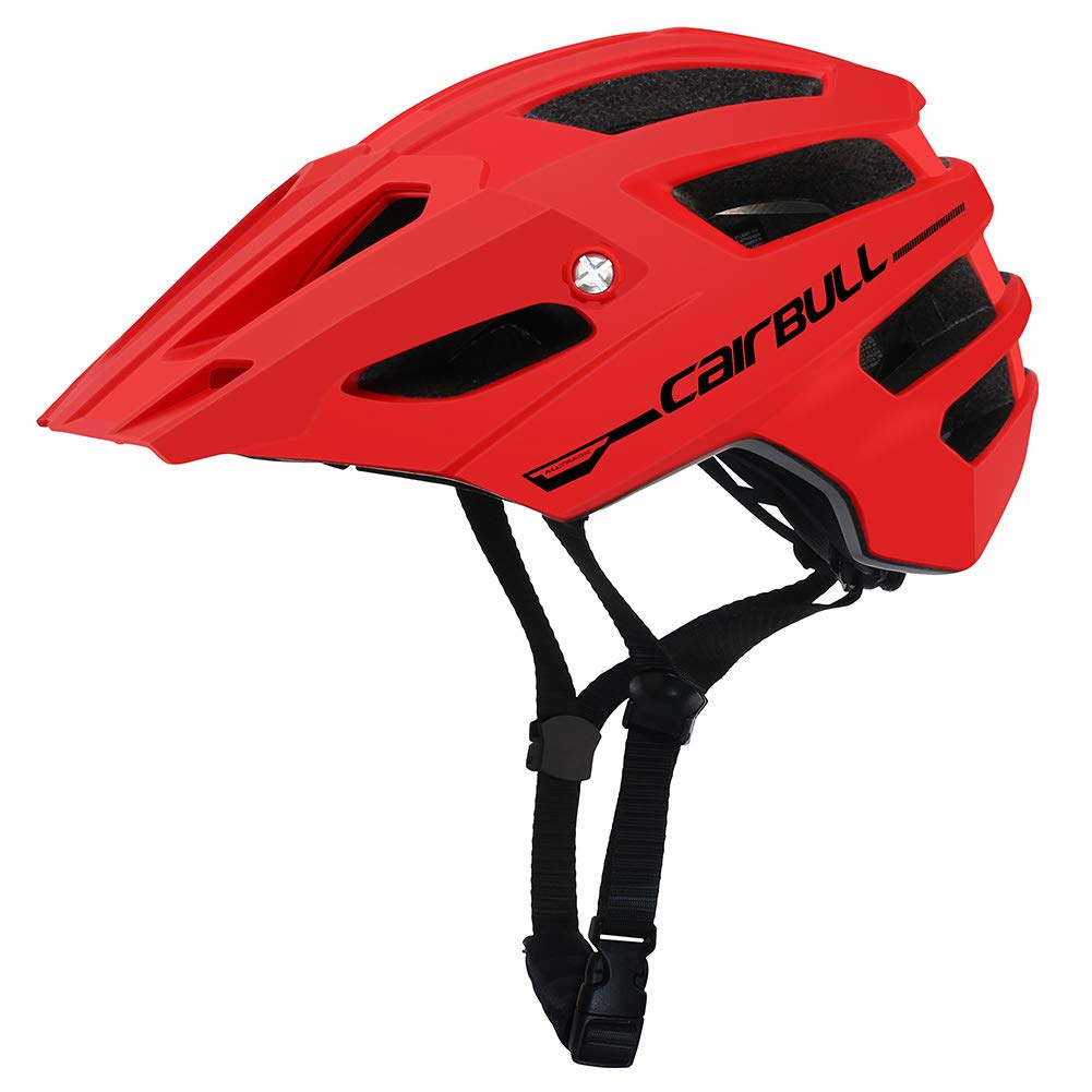 Meiyiu Bike Helmet,Professional Outdoor Mountain Road Bike Safety Riding Helmet with Brim Gray M/L (56-61CM)