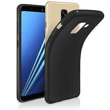 Leathlux Funda para Samsung Galaxy A8 2018, Carcasa Samsung ...