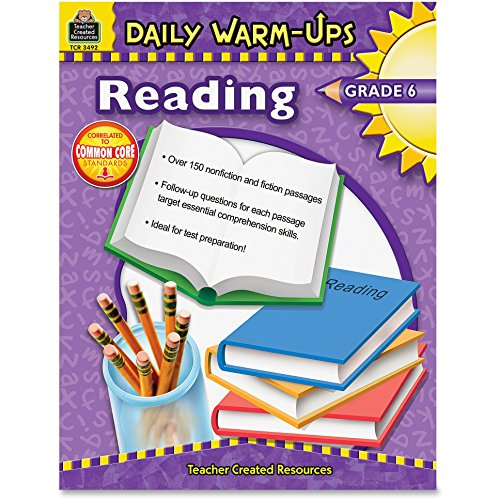daily-warm-ups-reading-grade-6-paperback-176-pages