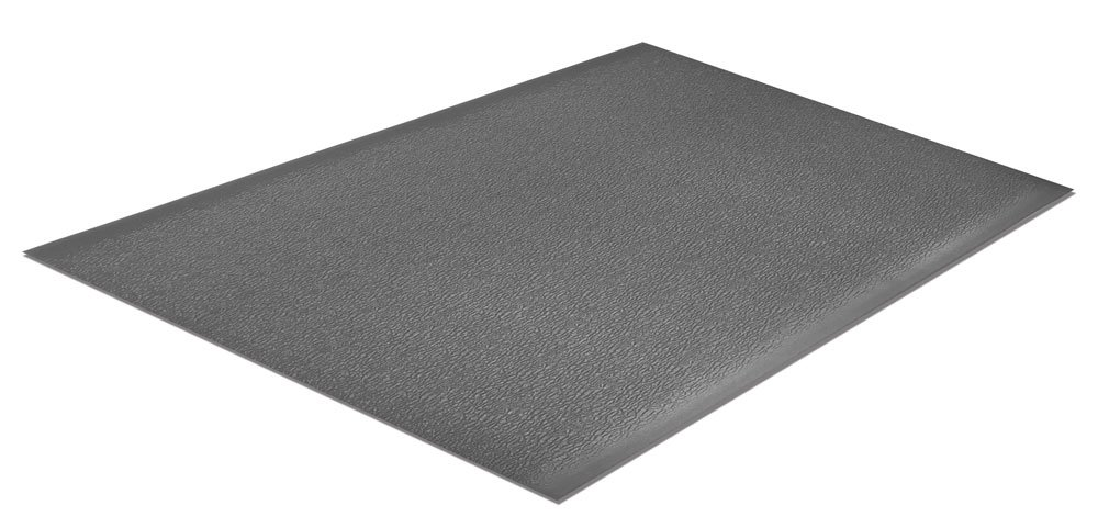 Comfort Step ESD w/Ground Cord and Snap 3/8'' Industrial Anti-Fatigue Mat, Grey, 2' x 3' by Portico Systems (Image #4)