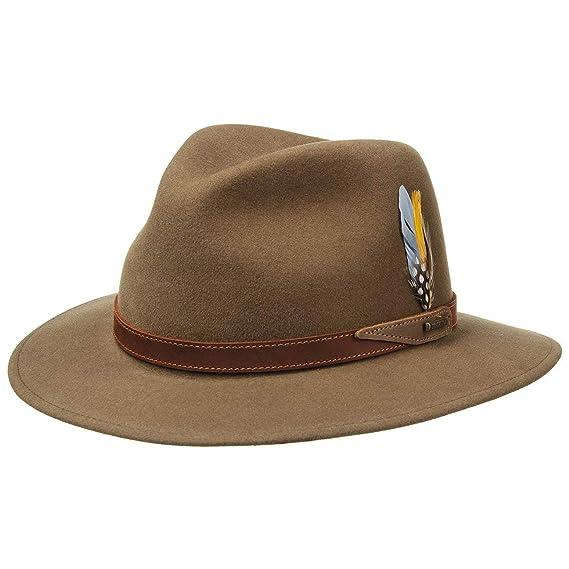 1d2587e9e50 Stetson Hampton VitaFelt Traveller Hat outdoor men´s  Amazon.co.uk ...