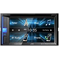 Amazon.com deals on JVC KW-V250BT 6.2-inch 2-DIN In-Dash Multimedia Receiver
