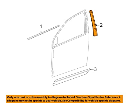 Enjoyable Amazon Com Genuine Gm 15245077 Window Frame Applique Right Rear Wiring 101 Capemaxxcnl