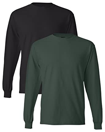 44c75e19d5d57 Hanes Men s Long-Sleeve Beefy-T Shirt (Pack of 2) at Amazon Men s ...