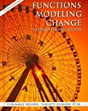Functions Modeling Change : A Preparation for Calculus 2nd Edition Paper (Texas Edition) with Student Study Guide Set, Connally, Eric, 0470039302