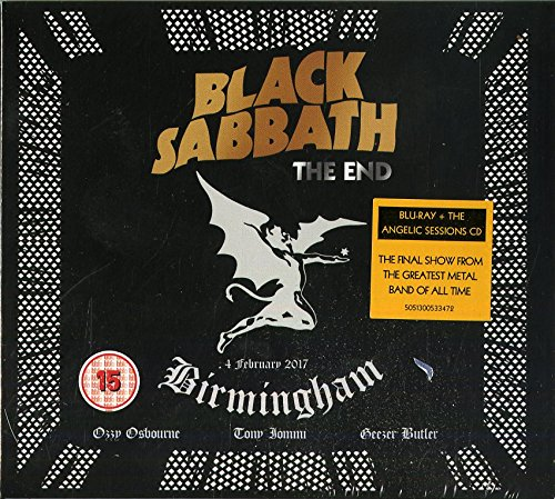 Black Sabbath: The End - Blu-ray/CD - Pa Stores 100