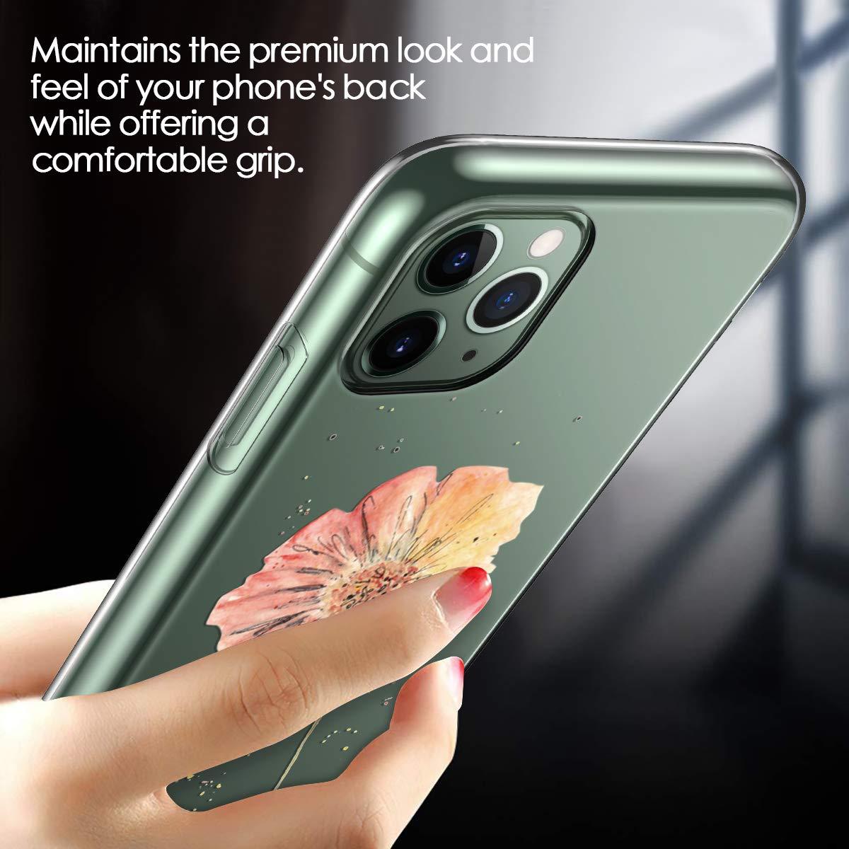 - Hirsch 3 Pack Yokata Kompatibel H/ülle iPhone 11 Pro Max Silikon Transparent Durchsichtig Handyh/ülle Schutzh/ülle TPU Ultra D/ünn Slim Kratzfest Handytasche Papierflieger Flamingo