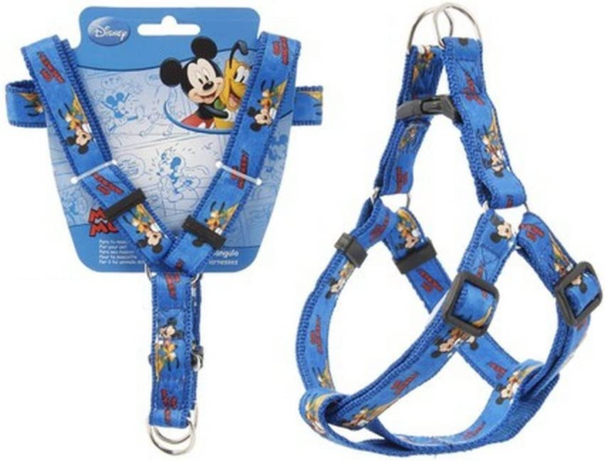 Arnés para perro Disney Mickey talla M collar Laisse: Amazon.es ...