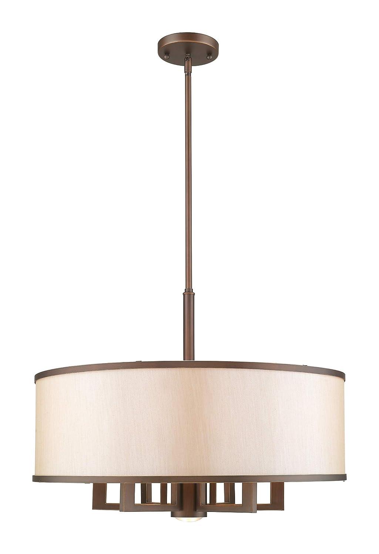 Livex Lighting 6296-70 Park Ridge Vintage Bronze Chandelier