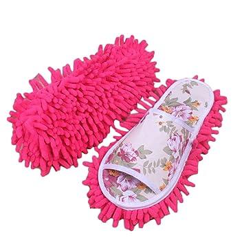SuntekStore Online - 1pair quitar el polvo de la fregona zapatillas limpieza limpia zapatos floor DMb7gWD1