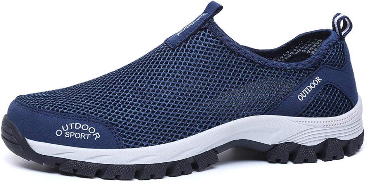 Zapatillas de Running para Hombre Aire Libre y Deporte Transpirables Moda Casual Comodo Zapatos Gimnasio Correr Ligero Sneakers Montaña Transpirable Zapatos para Correr vpass: Amazon.es: Zapatos y complementos