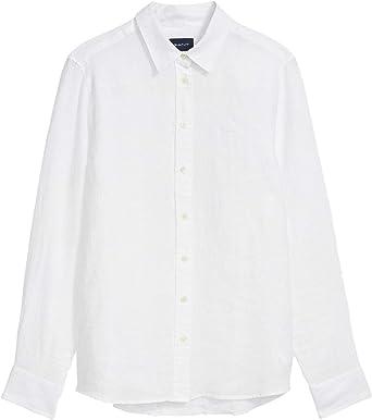 GANT The Linen Chambray Shirt Blusas para Mujer: Amazon.es: Ropa y accesorios