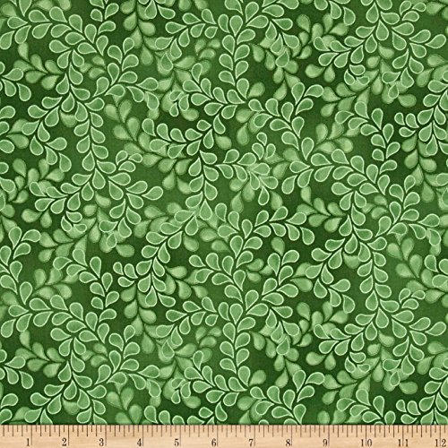 - RJR Fashion Fabrics 0531096 Newport Place Bay Hill Vine Leaf Fabric by The Yard