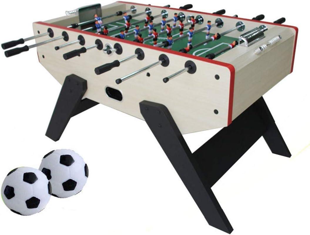MJ-Games Mesa de futbolín Mesa de fútbol Profesional de Mesa Juego ...