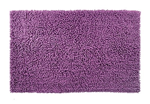 Dri Shag Chenille Non-Slip Area Rug for Bath, Kitchen, Home - 36