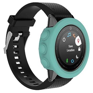 Fundas Garmin Fenix 5 Plus Silicona, Zolimx Reloj de Protector de ...
