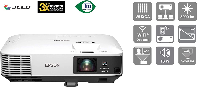 Epson Eb 2250u 5000 Ansi Lumen 3lcd Wuxga 1920 X 1200 Desktop Projector Heimkino Tv Video