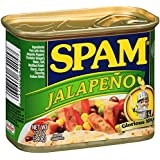 Spam Jalapeno Luncheon Meat Can, 12 Ounce