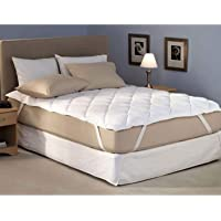 """Blanket House Cotton Waterproof Mattress Protector - King Size, White - 72"""" x 78"""""""