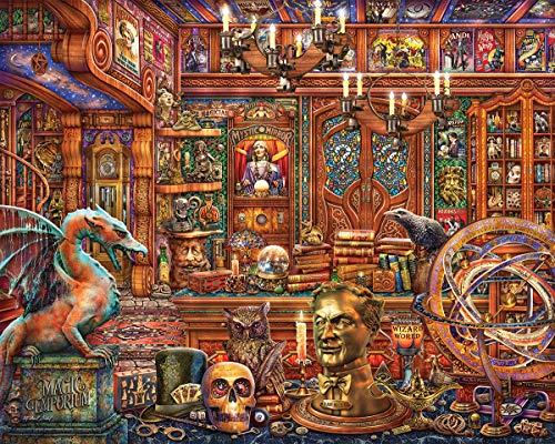 Springbok Puzzles - Magic Emporium - 500Piece Jigsaw Puzzle - Large 18