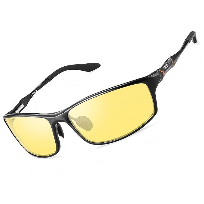 Amazon.com: SOXICK HD Gafas de conducción nocturna ...