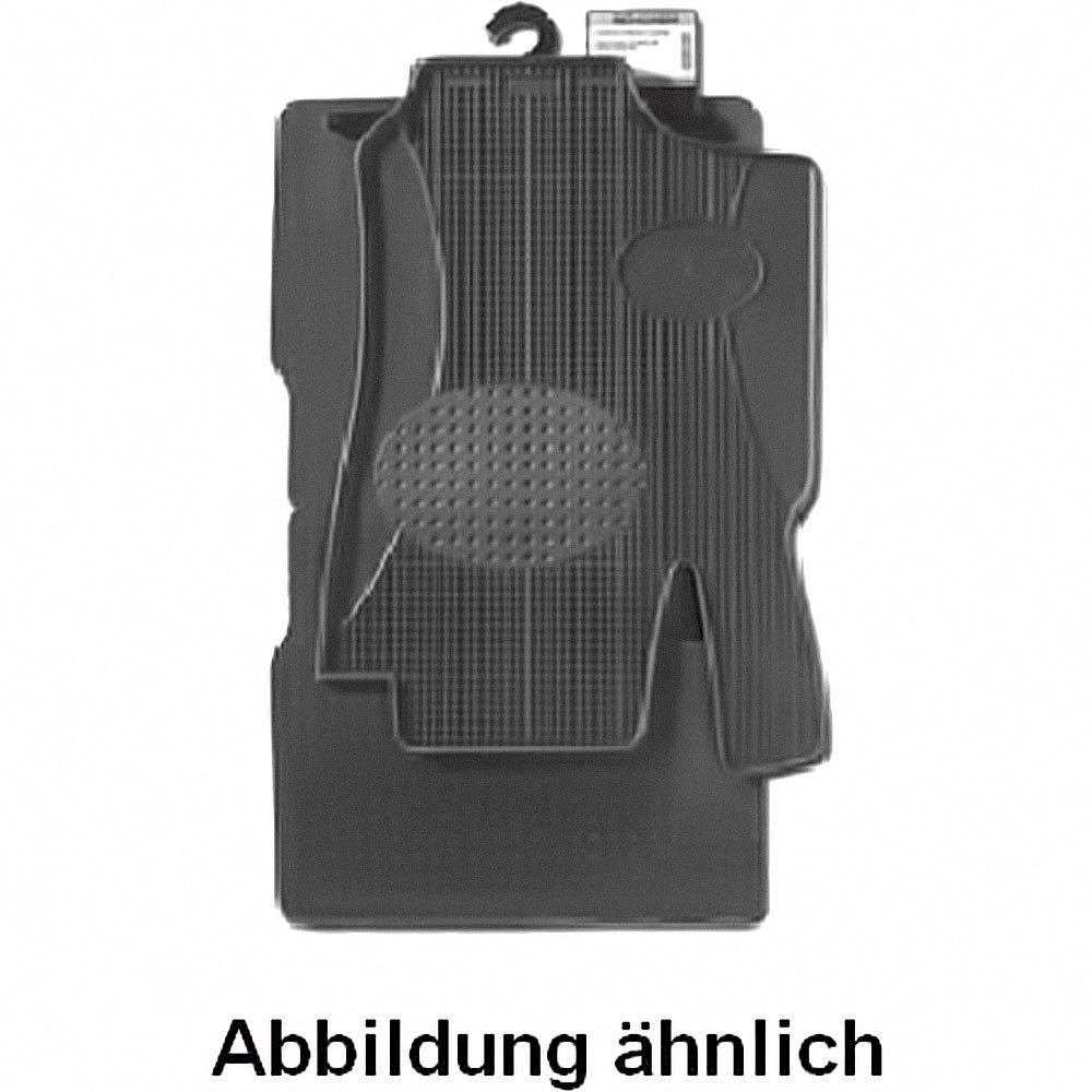 SCHÖNEK Gummimatten Typ 06 f. Mercedes-Benz 2TEILIG schwarz