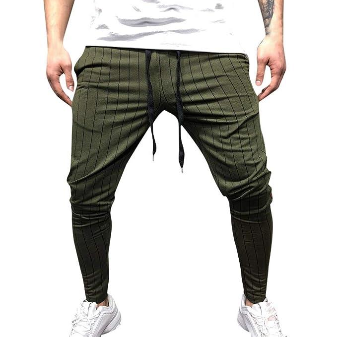 Pantalones de chándal, YanHoo Sueltos Ocasionales La Aptitud del ...