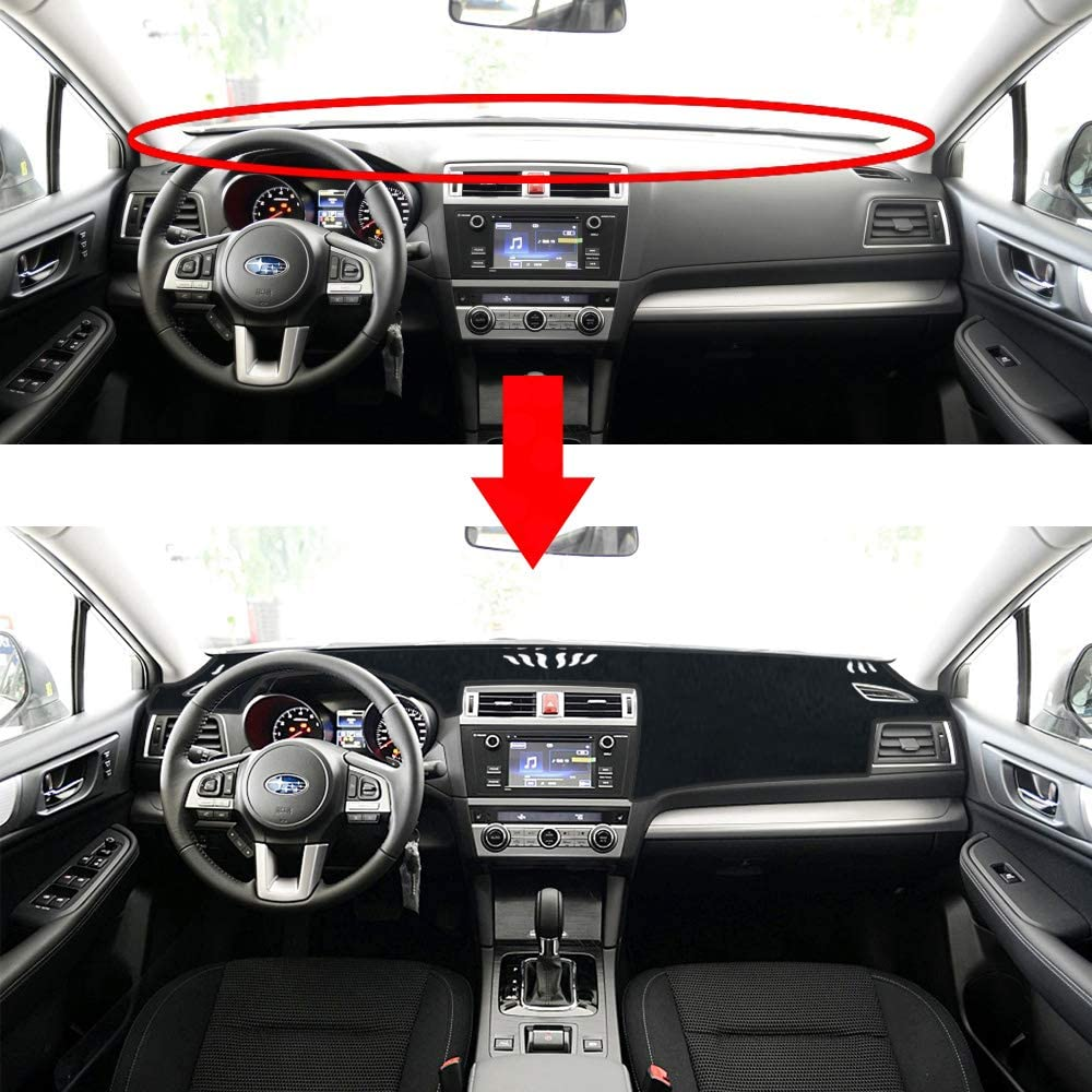 Interior Accessories Subaru Outback Dashboard Cover Dash Pad Car ...