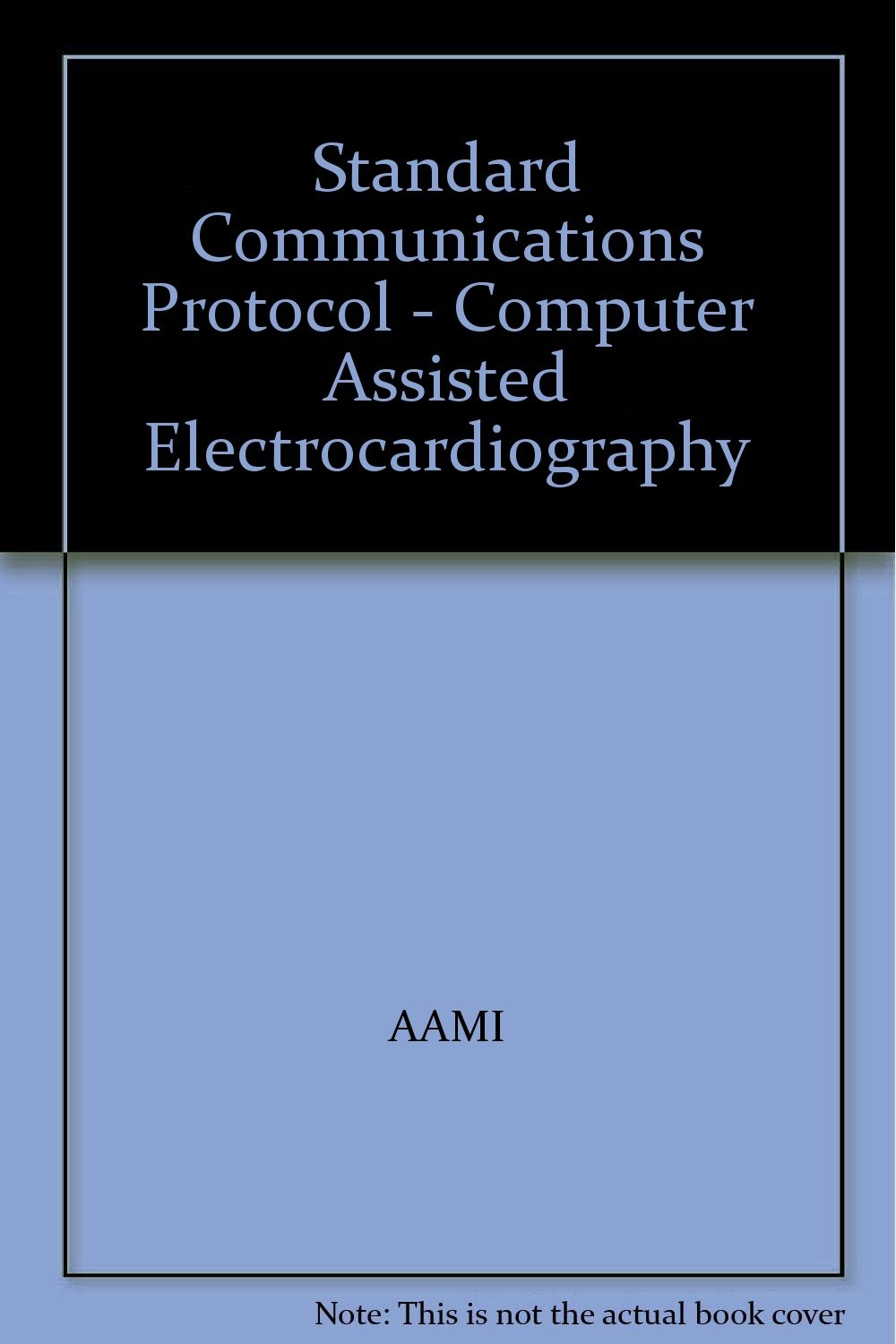 Standard Communications Protocol - Computer Assisted Electrocardiography pdf epub