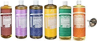 product image for Dr. Bronner's Pure Castile Soap Ultimate Rainbow 6 Variety Pack, 32 oz