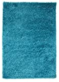 Soft Non Shed Thick Plain Easy Clean Shaggy Area Rugs Ontario - 16 Colours and 14 Sizes Available (Teal 2'7