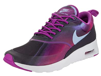 timeless design f8177 f1eab Nike Women s Air Max Thea Print Hyper Violet Bluecap Running Shoe 6.5 Women  US