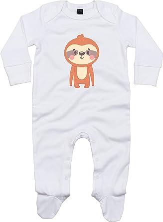 Kleckerliese - Pijama para bebé, diseño de perezoso: Amazon ...