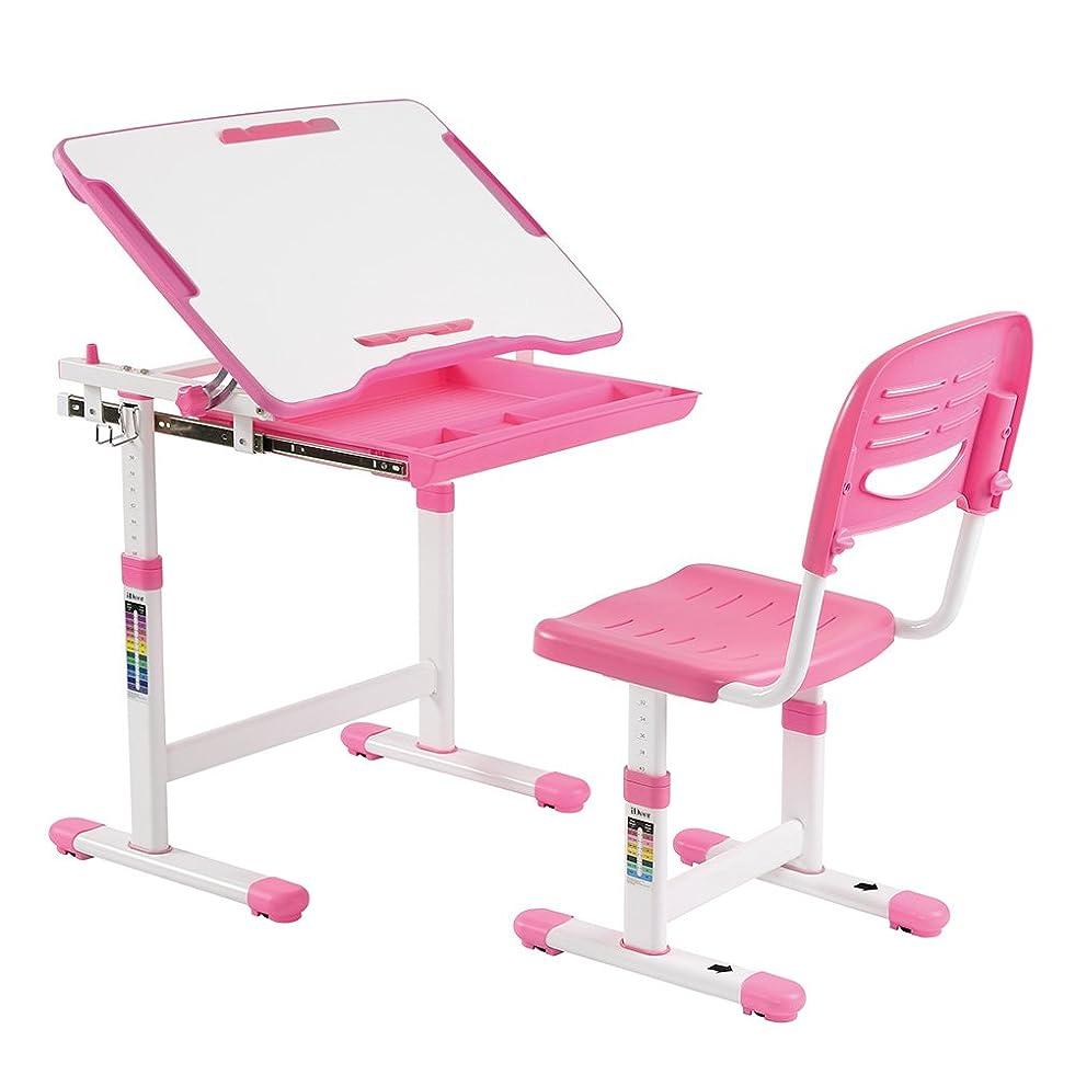 交通欲しいですカウンターパートLabebe 子供用ウッドテーブルチェアセット 机椅子セット デスクスツールセット
