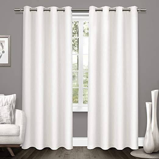 Colorful Blackout Curtain Panels Kitchen Window Draperies w// Grommet 2Piece