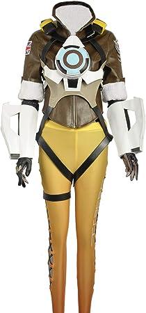 cosplayfly Adulto OW Tracer Lena Oxton nanotraje Cosplay Disfraz ...