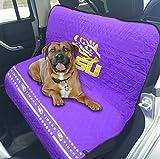 #9: LSU Tigers Premium Pet Dog Waterproof Car Seat Cover