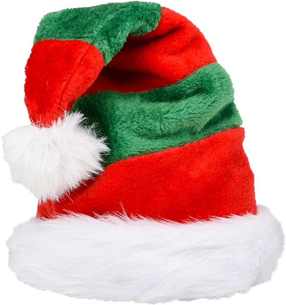 Brand New Christmas Red and Green Santa Hat